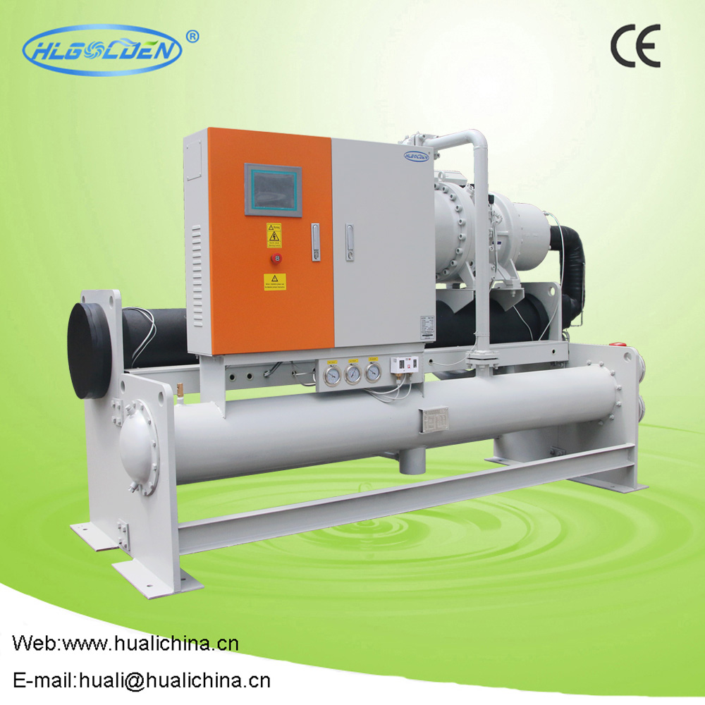 New design Screw Compressor Water Cooled Chiller