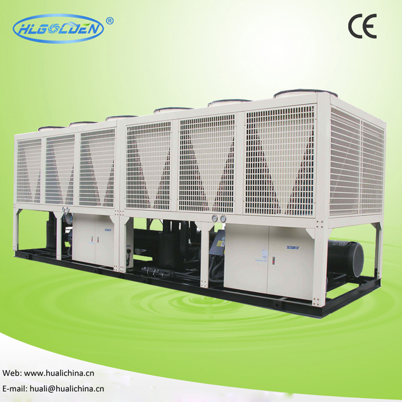 Working principle of household central air conditioner