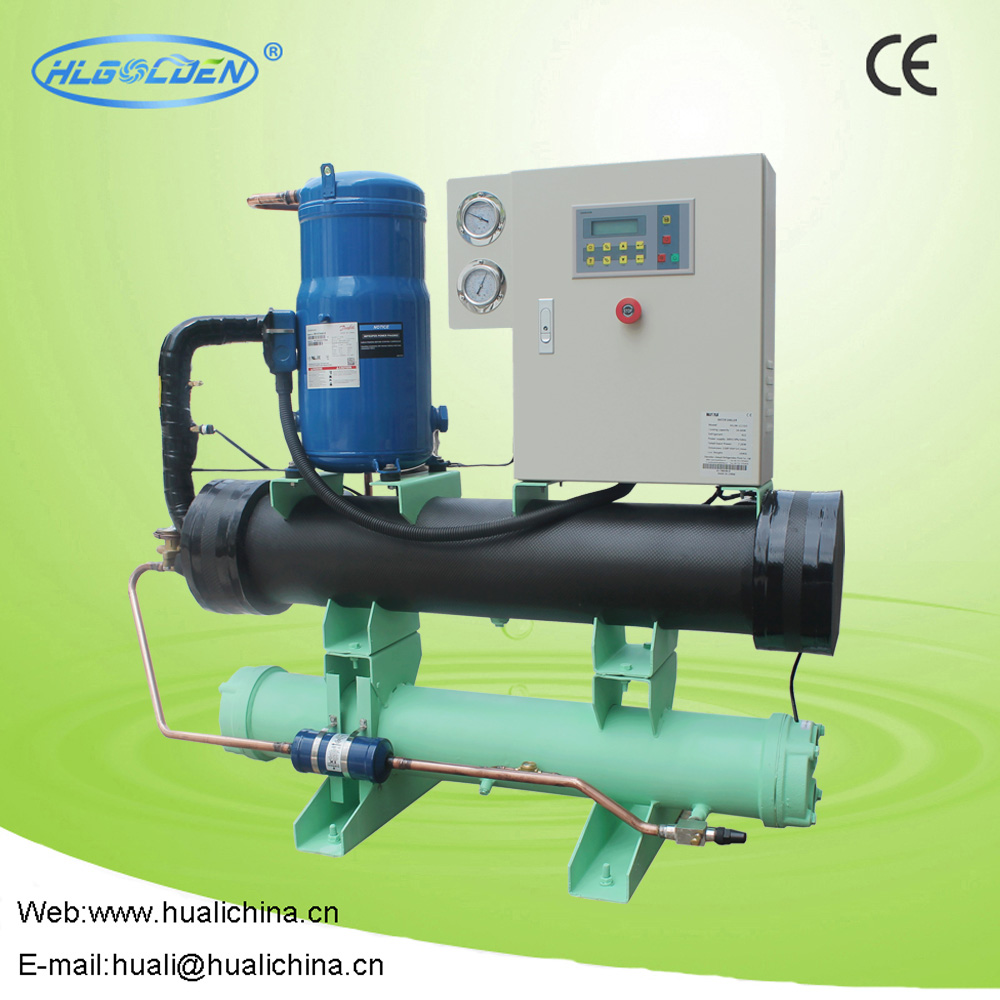 10HP Compact design water chiller for factory