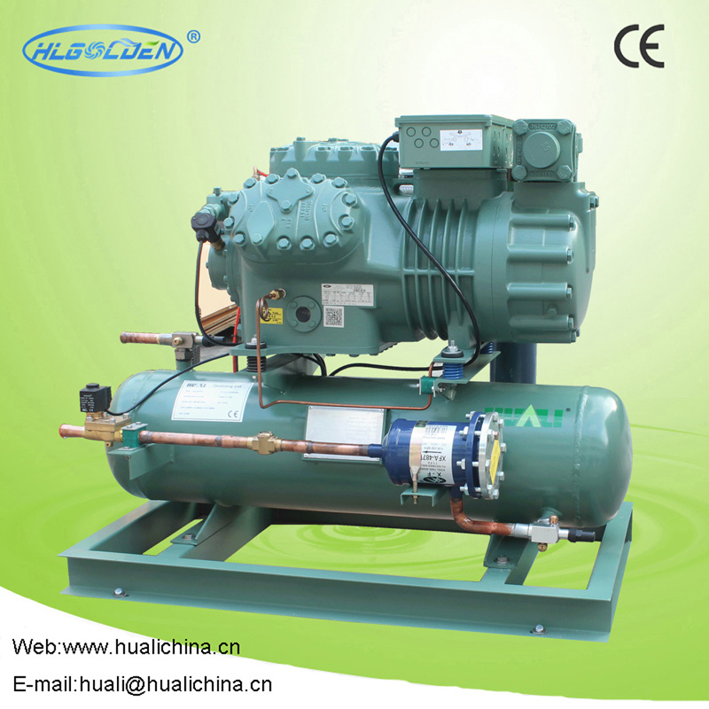 Water cooled condensing units (Bitzer compressors)